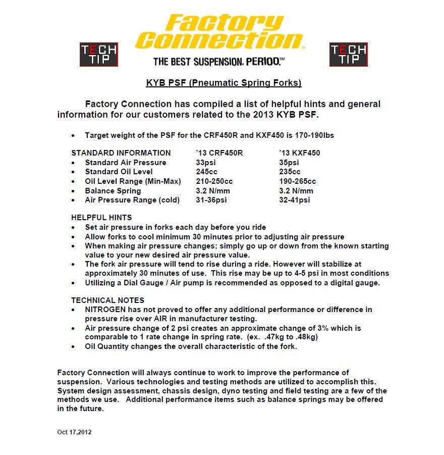 2013 KYB PSF Forks | powersportjunkieblog