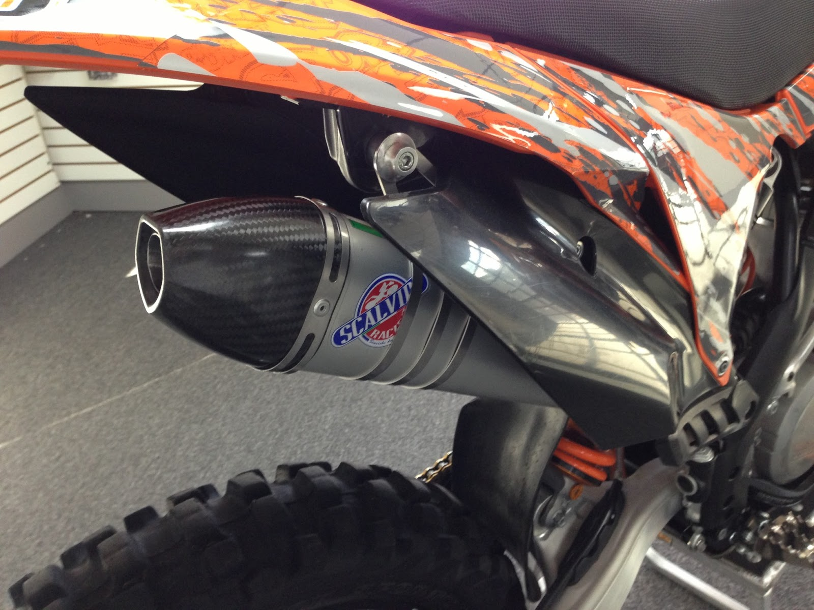 Scalvini Exhaust For The KTM 300 2011 KTM 300 XC-W