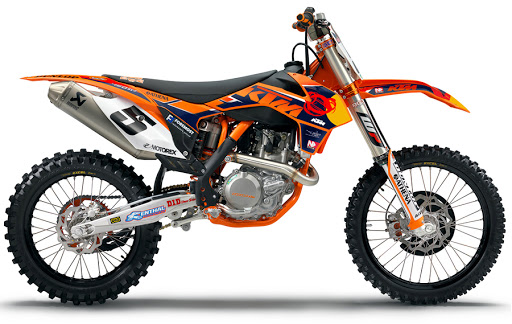 hot new: red bull ktm factory graphics kit from n-style